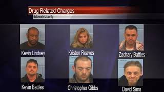 Six Etowah County Residents Arrested on Drug Charges