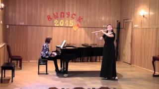 Йохан Амберг Тема и вариации. J. Amberg Thema et Variations