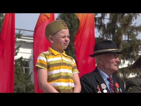 Митрополит Даниил принял участие в параде в честь Дня Победы