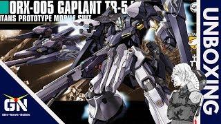 HG 1/144 Gaplant TR-5 Hrairoo - Unboxing (Certified Big Boy)