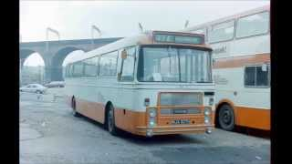 preview picture of video 'Stockport buses over the years'