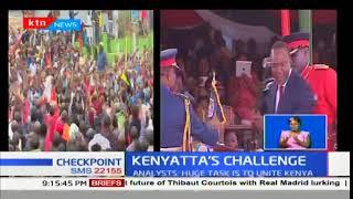 Kenyatta's Challenge:Tough second term ahead for Uhuru Kenyatta
