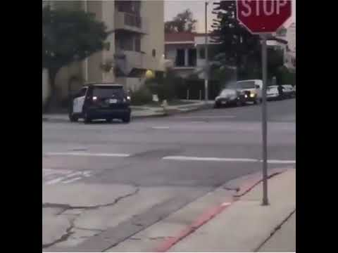 Los Angeles Police Department Shoot Teenagers To Enforce The Curfew at 6pm