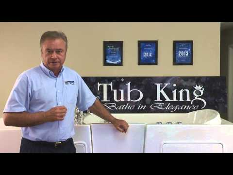 Walk-in Tub difference by Tub King