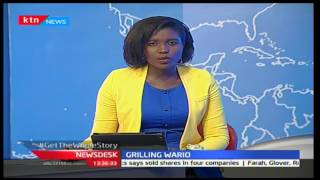 Sports CS Wario is back in parliament answering question of Rio Olympics, News Desk 20/09/16