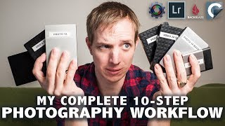 """Video of the Month - """"My complete PHOTOGRAPHY WORKFLOW in 10 Steps"""" - by Chris Eyre-Walker"""
