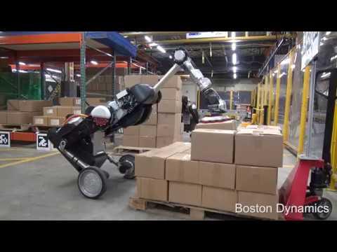 Boston Dynamics представила робота, который заменит грузчиков и сортировщиков