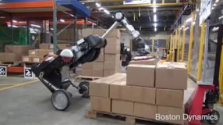 Робот Handle переосмислений для логістики