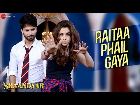Raitaa Phail Gaya Shaandaar 2#Shahid Kapoor Alia Bhatt Divya Kumar##