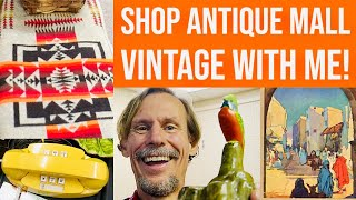 SHOP WITH ME! | VINTAGE DECOR | ANTIQUE RESELLING