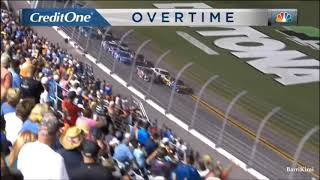 2018 Coke Zero Sugar 400 Finish (Final Restart) [AMAZING FINISH!]