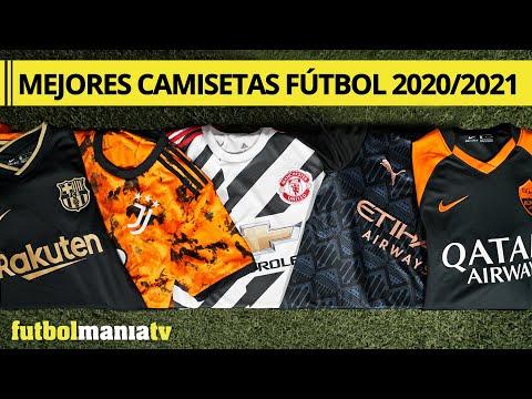 MEJORES CAMISETAS de FÚTBOL 2020 2021