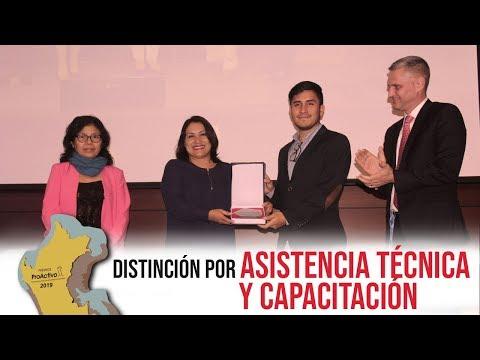 #PremiosProActivo 2019 | Distinción por asistencia técnica y capacitación a las comunidades
