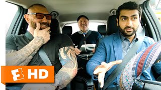 Kumail Nanjiani & Dave Bautista Are Alarmed By Crazy Drivers | 'Stuber' Interview