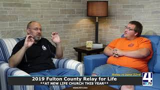 2019 Fulton County Relay for Life Interview