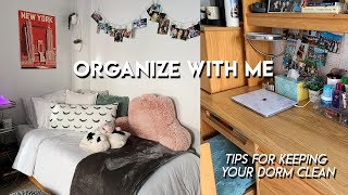 How To Keep Your Dorm Room Organized