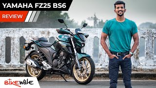 2021 Yamaha FZS 25 BS6 Review | Is It Better Touring Motorcycle Than Bajaj Dominar 250 | BikeWale