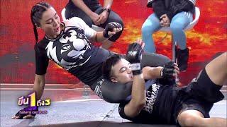 "Rika ""Tiny Doll"" Ishige demonstrates MMA skills on Thai TV"