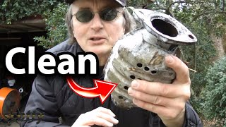 How to Clean Your Car's Catalytic Converter using Lacquer Thinner | Scotty Kilmer