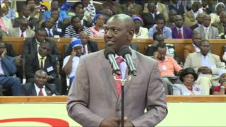 Un-Aired Exclusive: Deputy President William Ruto asks clerics to pray for a peaceful election