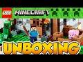 Download Video Lego Minecraft La Primera Noche The First Night Steve vs Creeper