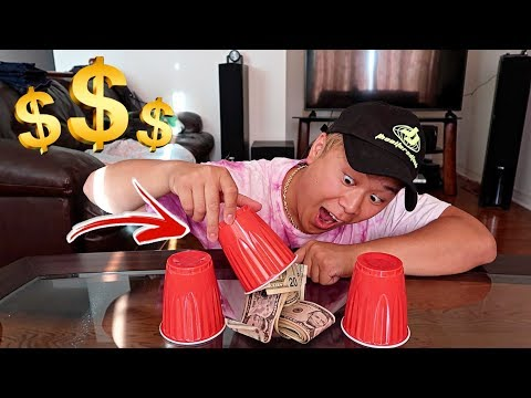 Magic Tricks Revealed - Guess The Right Cup Win $10,000