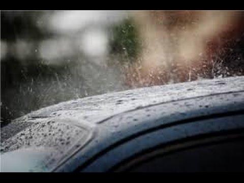 Звук дождя. Слушать дождь в машине.