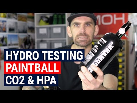 All About Hydrostatic Testing Paintball Compressed Air and Co2 Tanks