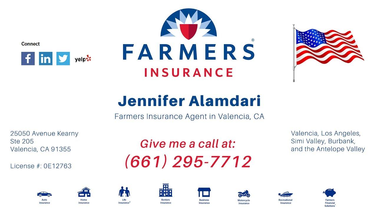 Jennifer Alamdari Insurance Agent
