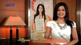 Andi Annisa Lasyah for Miss Indonesia 2015