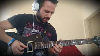 »The Spirit Carries On» (1st GUITAR SOLO) – DREAM THEATER (cover by J. Arnis)
