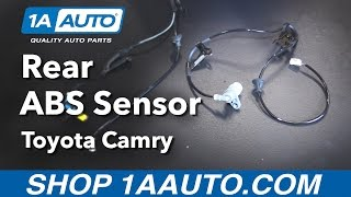 Abs speed sensor replacement most popular videos how to replace install rear wheel abs speed sensor 92 96 toyota camry fandeluxe Choice Image
