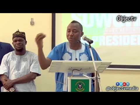 Ibadan Youths Town Hall Engagement with Sowore