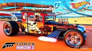 Download Bone Shaker Hot Wheels no Jogo Forza Horizon 3