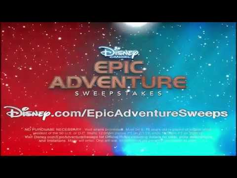 Disney epic adventure sweepstakes