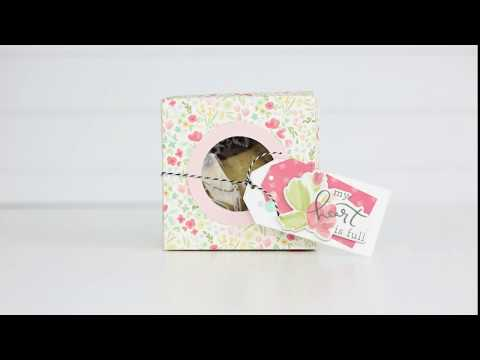 Project In a Minute: Springtime Cookie Gift