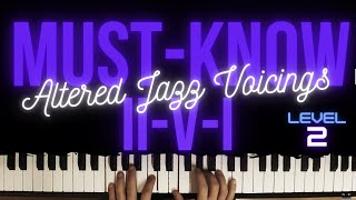 32 Must-Know ii-V-I Voicings for Intermediate Players │Jazz Piano Lesson #37