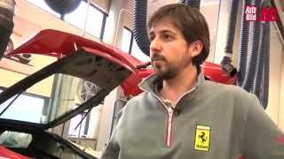 Jesús Álvarez, el mejor mecánico de Ferrari