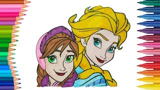 Frozen Elsa Ile Renkleri öğrenme Free Video Search Site Findclip