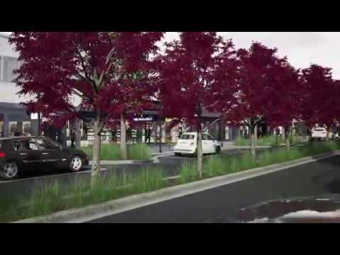 Maude Street Mall - Design Option 1
