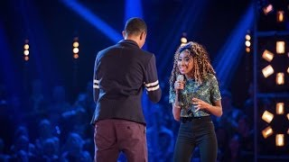 Iesher Haughton Vs Femi Santiago - 'Stop, Look, Listen (To Your Heart)' - The Voice UK 2014