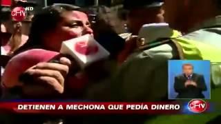 Polémica por abuso policial de Carabineros a mechona en Santiago
