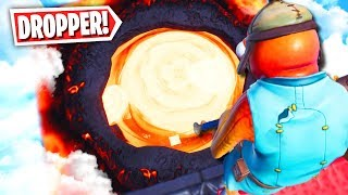 This Fortnite Lava Dropper Map is Impossible! (Fortnite Creative Mode)