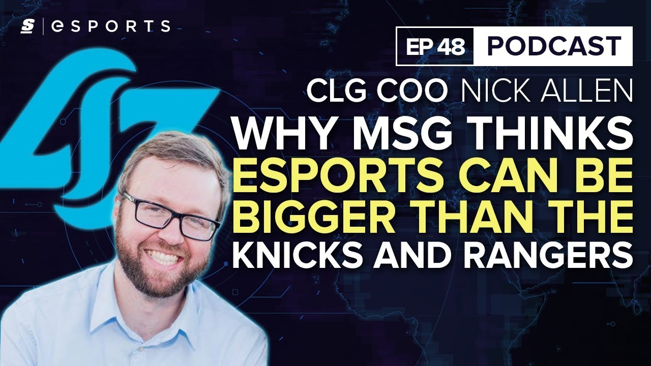 Clgs Nick Allen Madison Square Garden Thinks Esports Can Be Bigger Sport Bra Golden Good Quality Thumbnail
