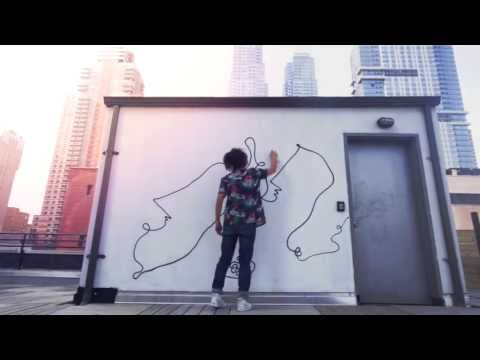 Watch Shantell Martin Make Art On Our Roof