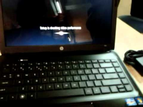 HP 1000-1122TU Notebook PC Unboxing & Setup