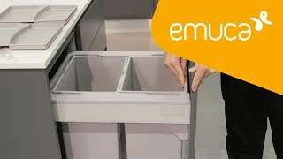 How to assemble a recycling container for Vantage-Q drawer
