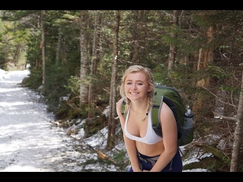 Hiking Mount Washington! & Diana's Bath's