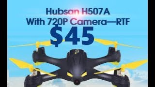 Hubsan H507A X4 Pro LOW COST GPS $45 RC Quadcopter 400 meter FPV HT011A Controller Review
