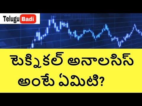 Technical AnalysisTutorial for Beginners. Stock Market Basics for Beginners in India. Telugu badi